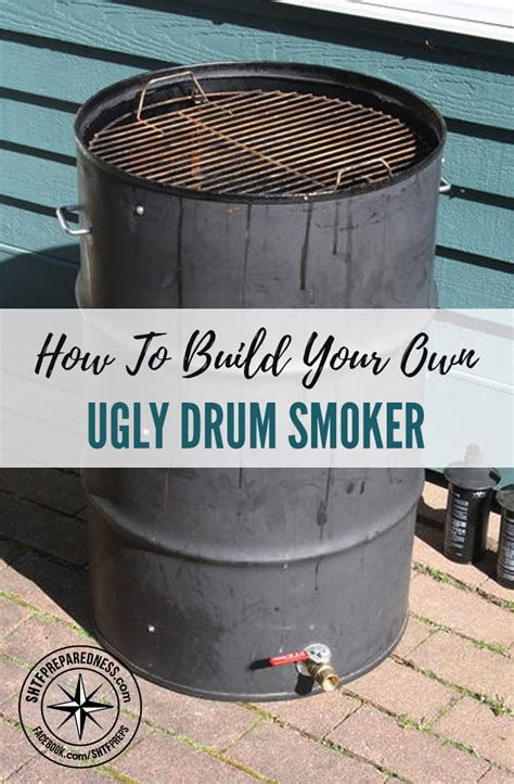 How To Build Your Own Ugly Drum Smoker