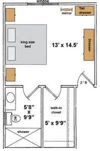 Master Bedroom Bathroom Layouts