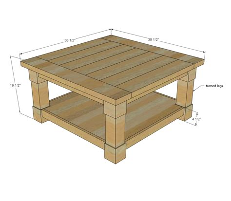 how tall is a coffee table standard height of coffee table
