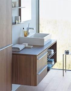 Badmöbel Mit Aufsatzbecken : waschtische waschbecken aus keramik duravit ~ Frokenaadalensverden.com Haus und Dekorationen