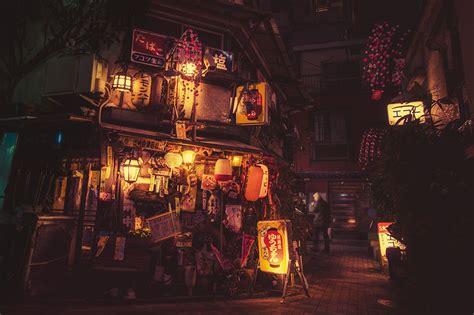 magicas fotografias nocturnas de las calles de tokyo por