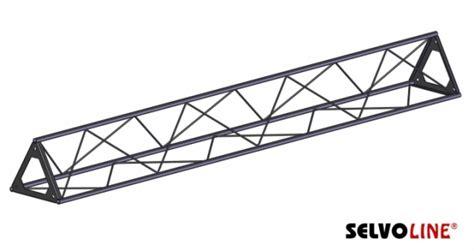 traliccio triangolare traliccio triangolare 25 cm standard tralicci
