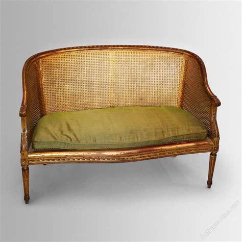 canap駸 vintage gilt sofa canape antiques atlas