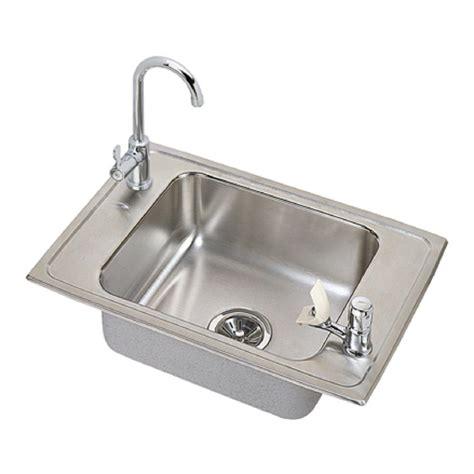 elkay crosstown undermount stainless steel 14 in bar sink
