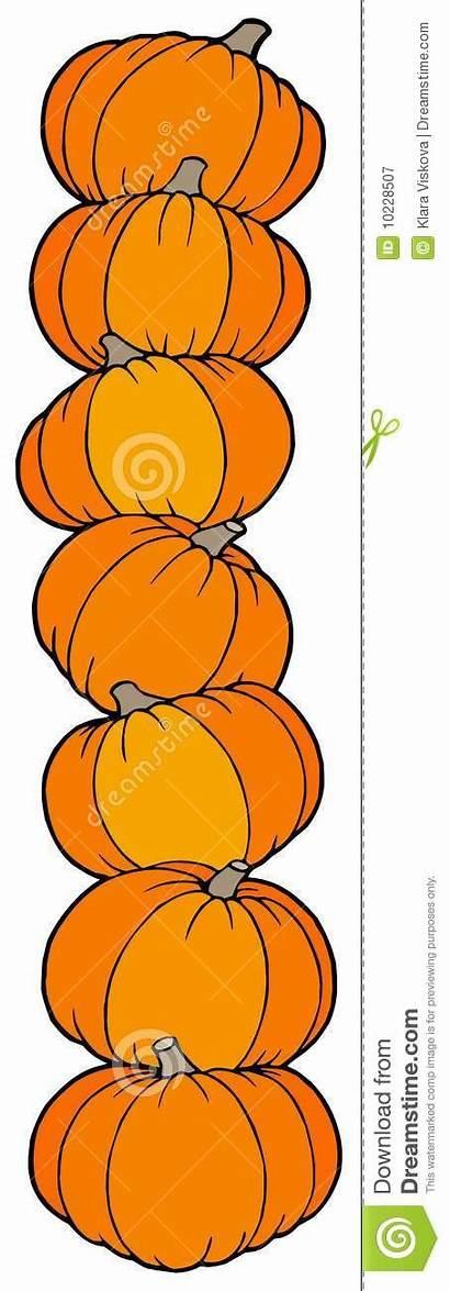 Vertical Line Pumpkins Illustration Vector Royalty Dreamstime