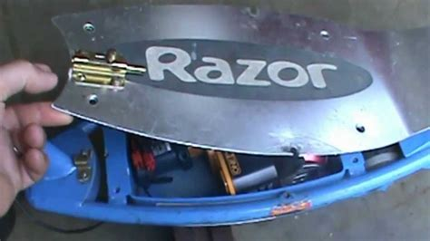 razor electric scooter volt drill battery youtube
