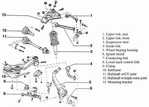2000 Honda Civic Rear Suspension Diagram  2000  Free Engine Image For User Manual Download