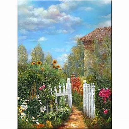 Garden Grandmother Giclee Limited Canvas Edition Grandmothers