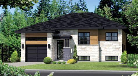 style de maison moderne plain pied plan de maison plain pied de style moderne la terre de chez nous