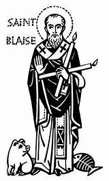 Saint Saints Blaise Coloring St Feast Pages Feb Catholic Different Throat Healthy February Ade Ansgar Bethune Patron Printable Crafts Blaising sketch template