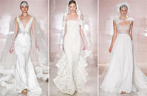 Reem Acra Wedding Gowns Fall 2014 Bridal