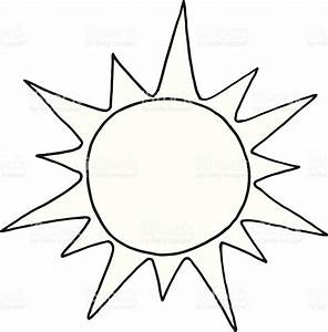 Black And White Sun Stock Vector Art & More Images of ...