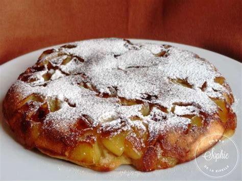 cuisiner sans balance gâteau aux pommes à la poêle la tendresse en cuisine