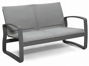 Petit Fauteuil De Salon : petit canape exterieur table fauteuil jardin maisondours ~ Teatrodelosmanantiales.com Idées de Décoration