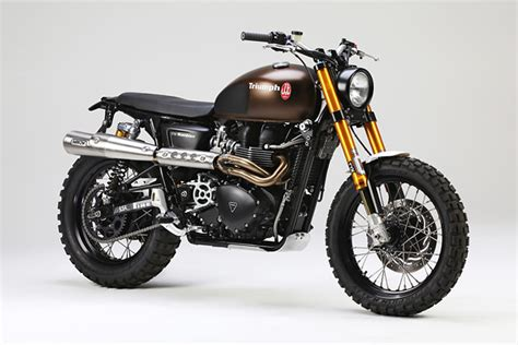 Thruxton R Modified Scrambler