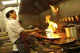 Asian cook cooking look