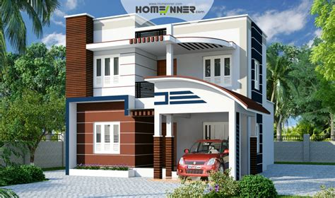 2 Bhk Home Design In India : Modern Contemporary 3 Bhk 1650 Sq Ft Indian Home Design