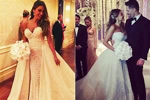 sofia vergara in wedding dress hairstylegalleriescom With sofia vergara wedding dress