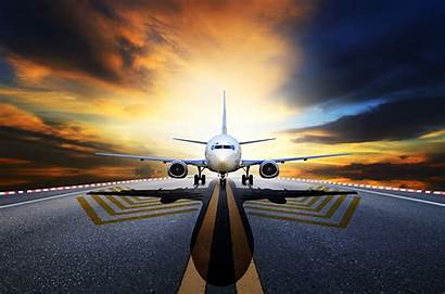 Night Airplanes Airplane Aviation Asphalt Passenger 1280
