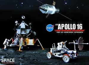 JUN121994 - NASA APOLLO 16 LUNAR HIGHLANDS 1/72 SCL MDL ...