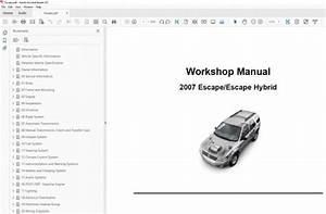 2010 Ford Escape Repair Manual