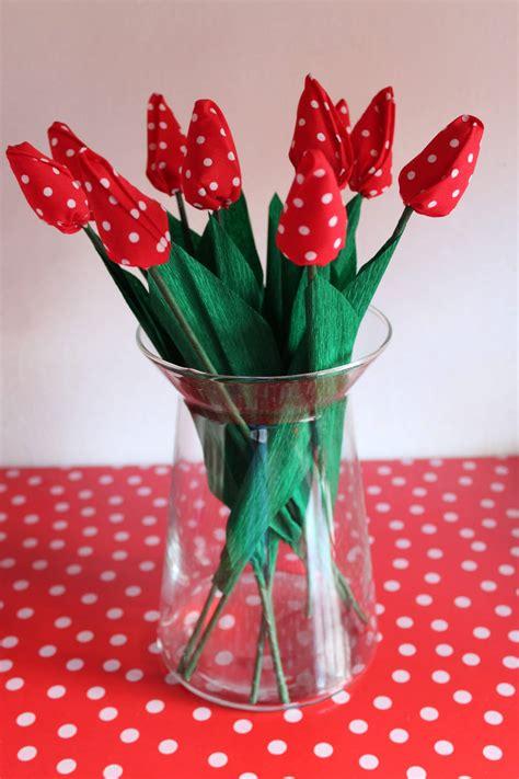tulpen aus stoff naehen handmade kultur