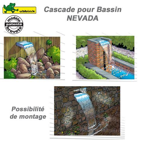 cascade pour bassin de jardin ext 233 rieur nevada 30 led ubbink 131211