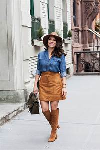 Brown Suede Skirts Are Spring 2015u2019s Biggest Trend | StyleCaster