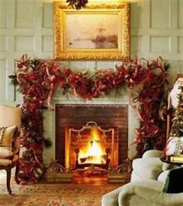 Christmas Decorating Fireplace Ideas NATURALLY