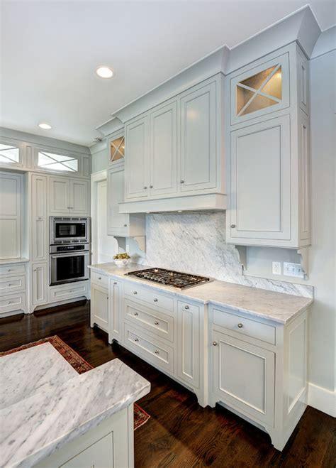 light gray cabinets transitional kitchen benjamin