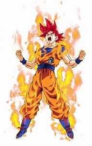 Goku Super Saiyan God 2 By BardockSonic On DeviantArt