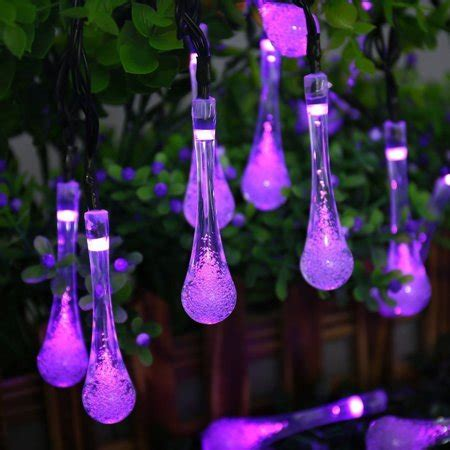 drop light walmart qedertek garden lights solar lights 30 led water