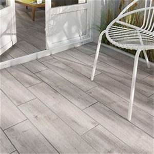 carrelage sol gargano gris 15 x 605 cm int ext beau With carrelage terrasse imitation parquet