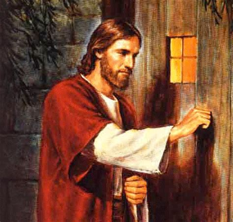 jesus knocking at the door a new way of reading a well known text bhubesi