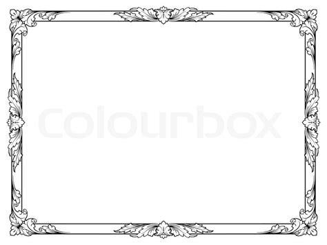 abstrakt isoliert kalligrafie vektorgrafik colourbox