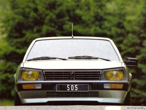 Peugeot 505 Turbo by Peugeot 505 Turbo Injection 180 Ch