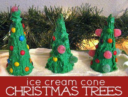 ice cream cone christmas trees christmas trees