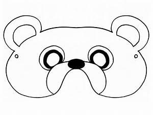 best photos of teddy bear mask template polar bear mask With polar bear face template