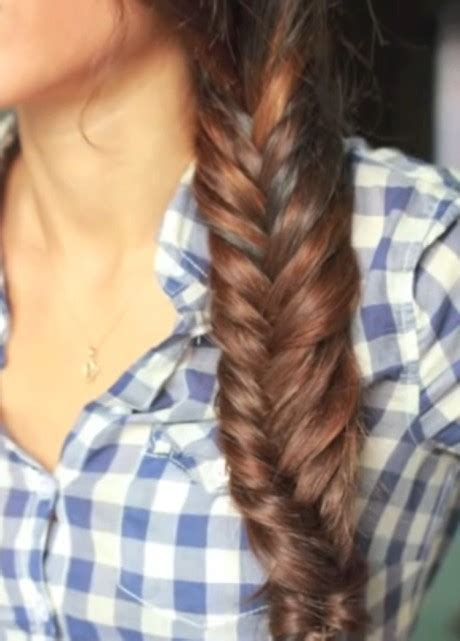 How To Do Hairstyles by How To Do A Fishtail Braid Everyday Fishtail Braid