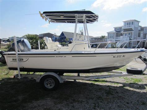 Boat T Top Weight by Boston Whaler Outrage 20 21k Sold The Hull