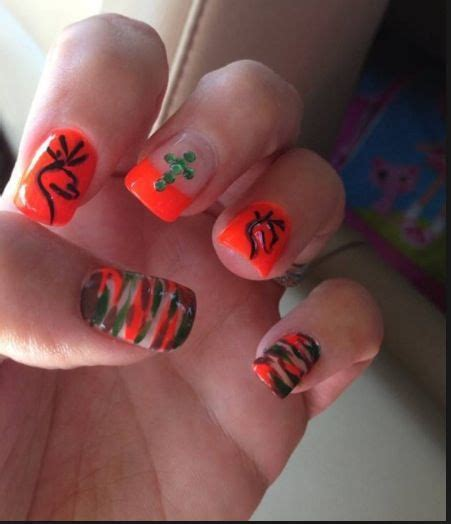 hunting camo nails images  pinterest camo
