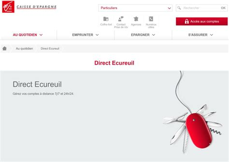 soci t g n rale si ge service direct ecureuil