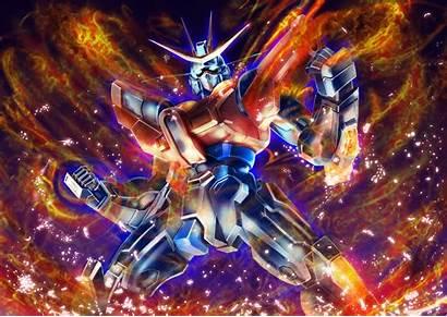 Gundam Burning Build Danbooru Maru Modoki Drawn