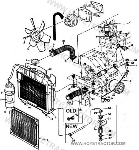 Cooling Yanmar Tractor Parts