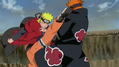 anime fight video image naruto vs pain png narutopedia sr wiki fandom