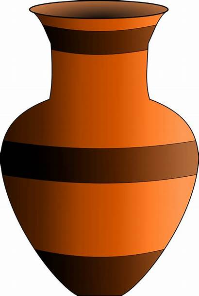 Vase Clipart Animated Pottery Artifact Clip Transparent