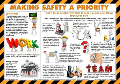 info poster making safety  priority safetyimagescom