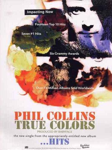 phil collins true colors phil collins gt singles gt true colors