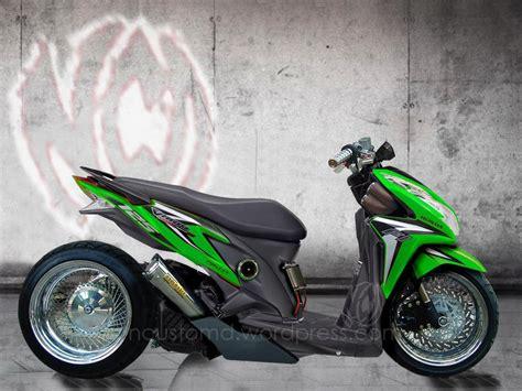 Modifikasi Vario Techno 150 by Foto Modifikasi Honda Vario Techno Terbaru 2015 2 Kunci