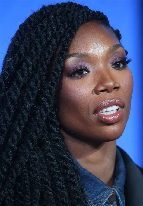 Brandy Once Admitted That Fear Made Her Lie to Oprah ...